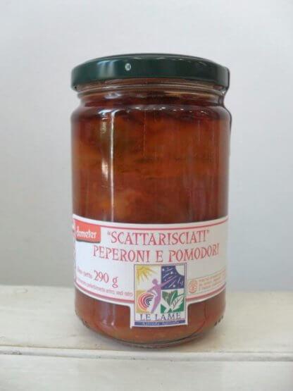 Peperoni e pomodori scattarisciati Demeter - LE Lame