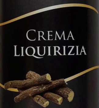 liquore crema di liquirizia
